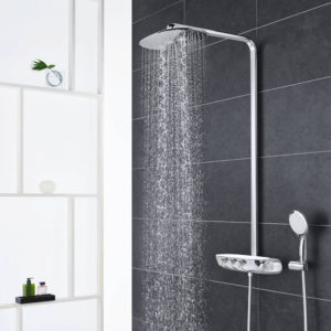 Inclusief montage grohe rainshower systeem