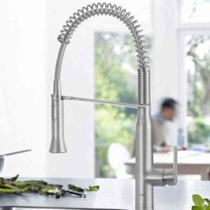 GROHE K7 finish supersteel inclusief montage